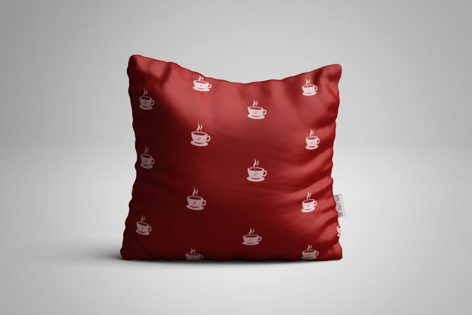 Square - Pillow Mockup (Freebie) by MassDream